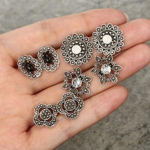 Jewelry - NEW 4 pairs boho earrings set